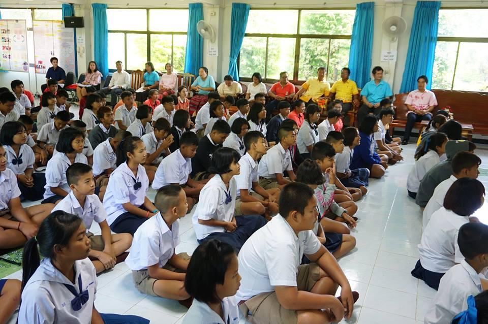 กิจกรรมปฐมนิเทศนักเรียนชั้นมัธยมศึกษาปีที่ 1 และ 4 ปีการศึกษา 2561